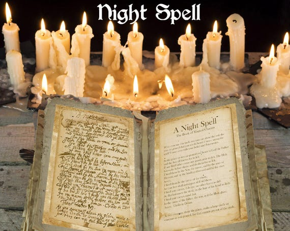Night Spell Ancient Witchcraft Spell