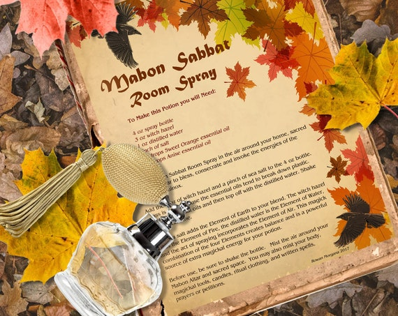 Mabon Room Spray