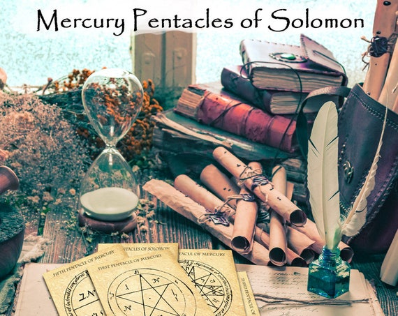 The Mercury Pentacles of Solomon