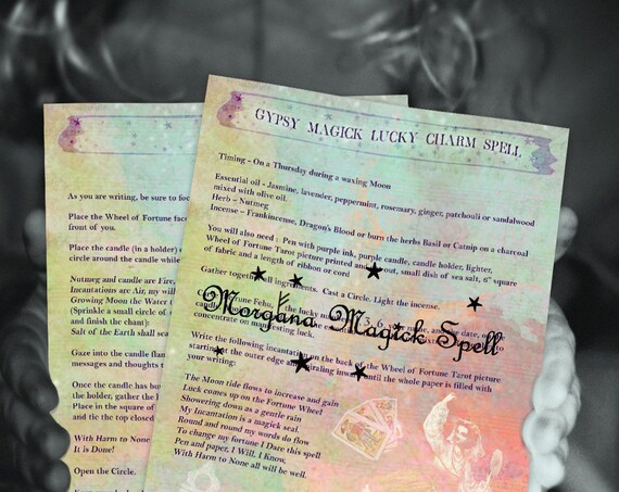 Gypsy Magick Lucky Charm Spell