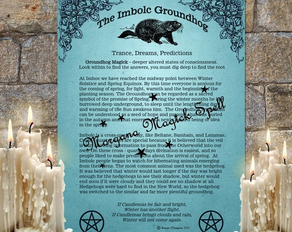 The Imbolc Groundhog