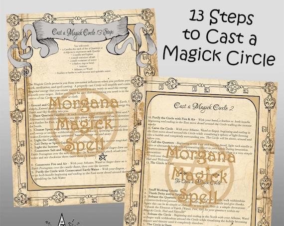 Cast a Magick Circle  13 Steps