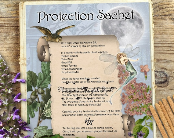 Protection Sachet Recipe and Spell