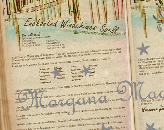 Enchanted Windchimes Spell