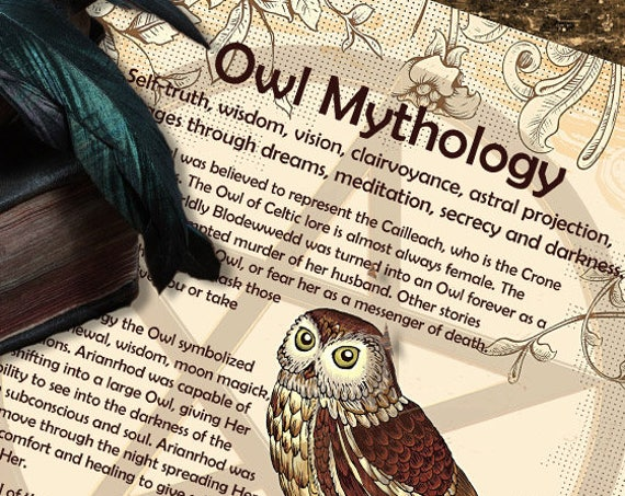 Owl Mythology