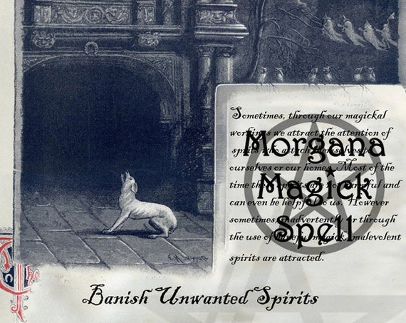 Banish Spirits Spell