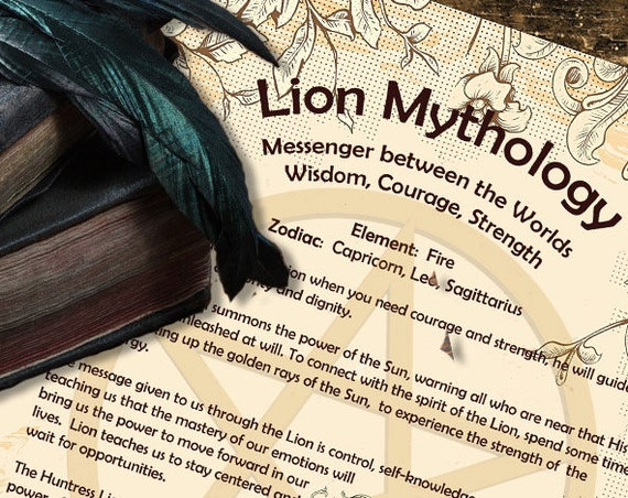 Lion Mythology