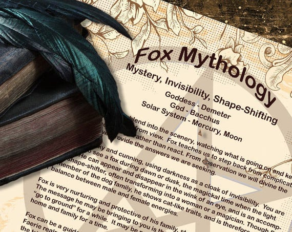 Fox Mythology