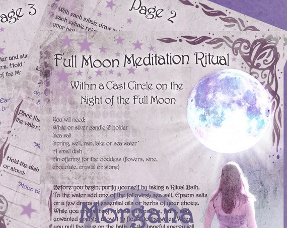 Full Moon Meditation Ritual