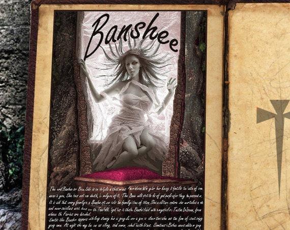 """The Banshee Faerie """"Bean Sidh"""""""