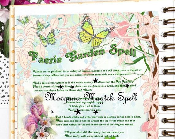 Faerie Garden Spell