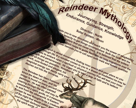Reindeer Mythology