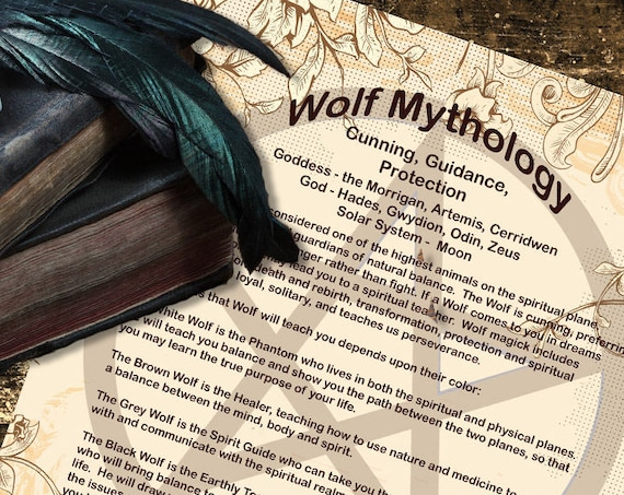 Wolf Mythology