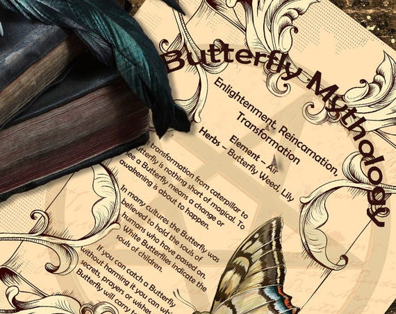 Butterfly Mythology