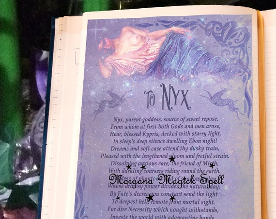 Goddess Nyx Invocation