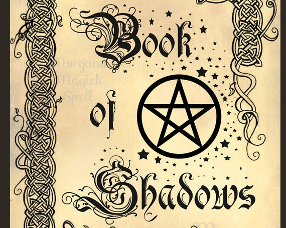 Book of Shadows Front Page