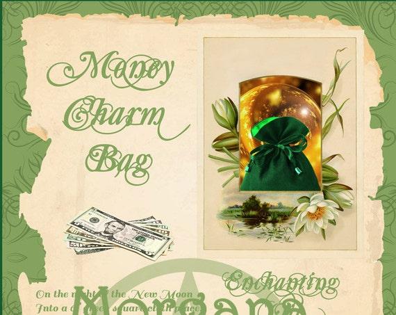Money Charm Bag Spell