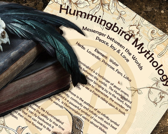 Hummingbird Mythology