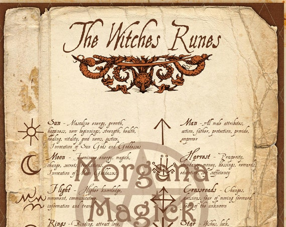 The Witches Runes
