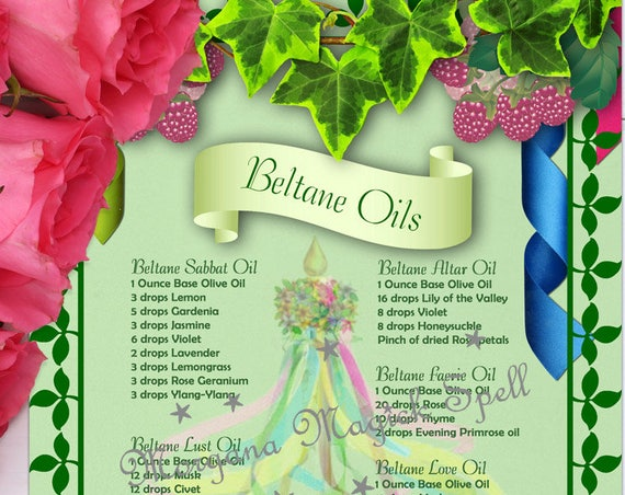 Beltane Magick Oils