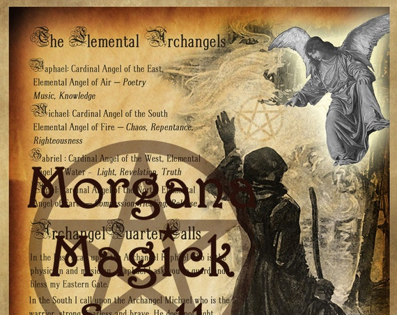 Elemental Archangels Invocation