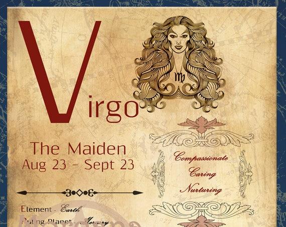 VIRGO ZODIAC, Digital Download
