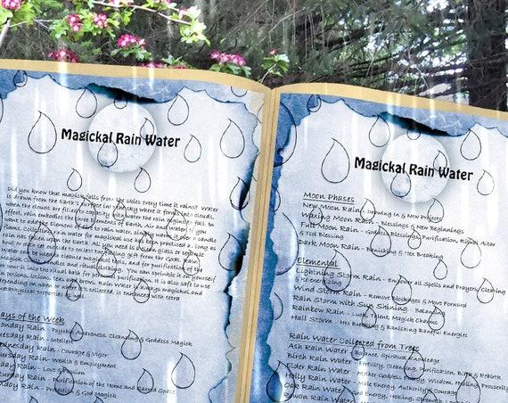 Rain Water Magick