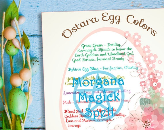 Ostara Egg Colors