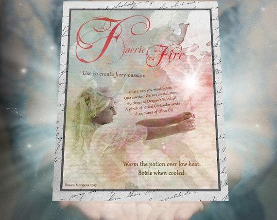 Faerie Fire Potion