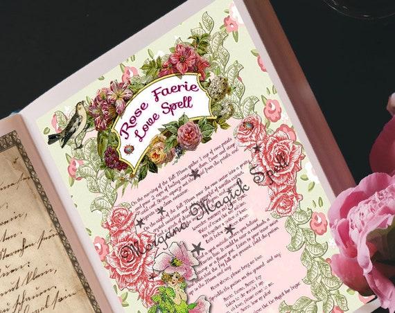 The Rose Faerie Love Spell