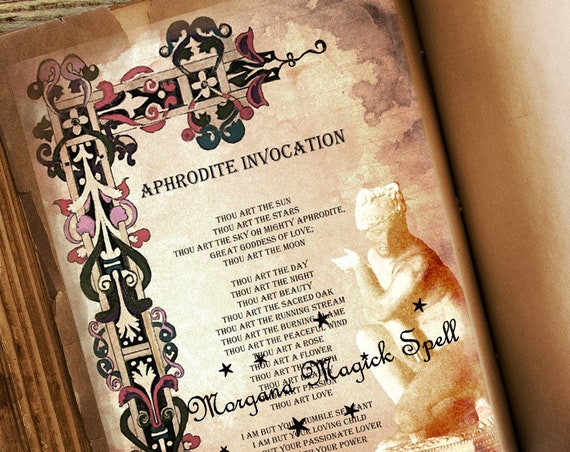 Goddess Aphrodite Invocation