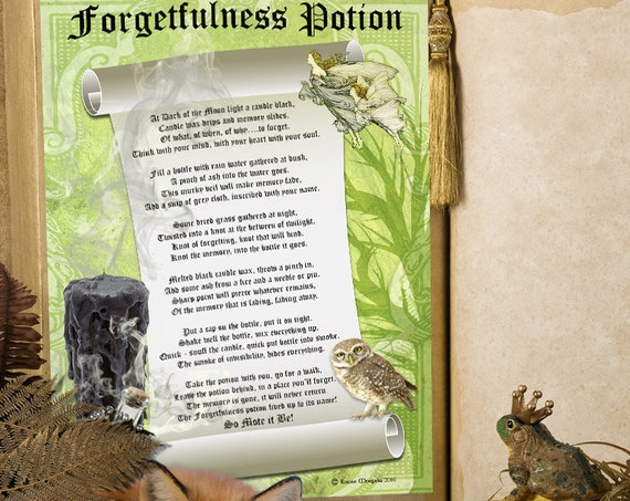 Forgetfulness Potion Spell