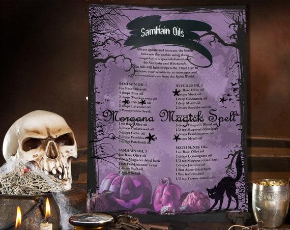 Samhain Magick Oils