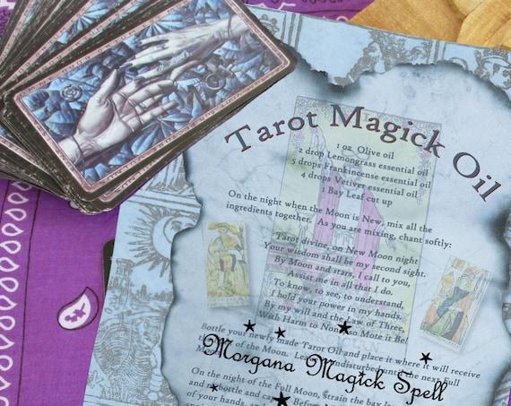 Tarot Magck Oil
