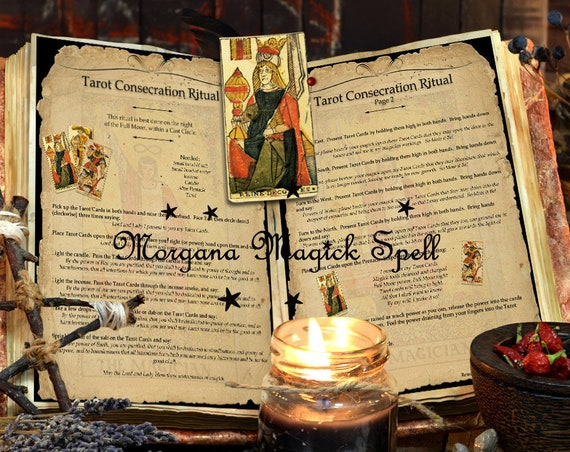 Tarot Consecration Ritual