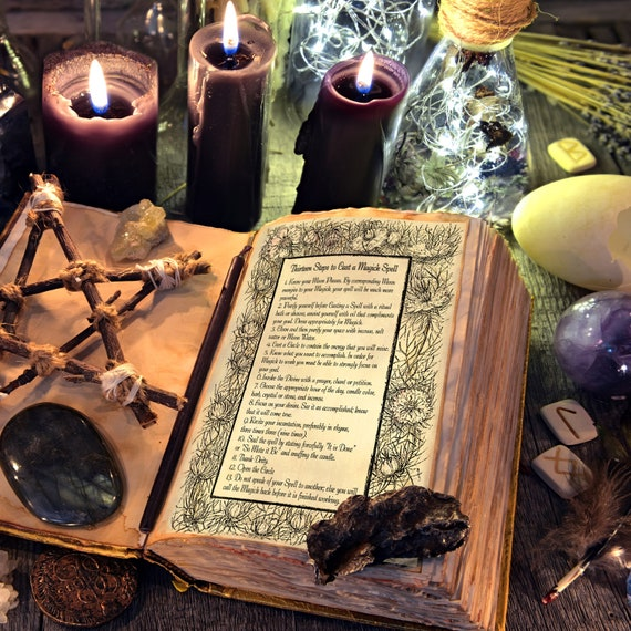 13 Steps to Cast a Spell