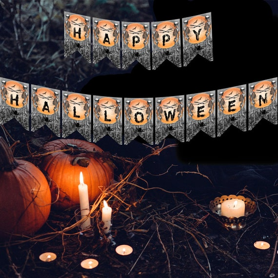 Happy Halloween Banner - Printable Banner