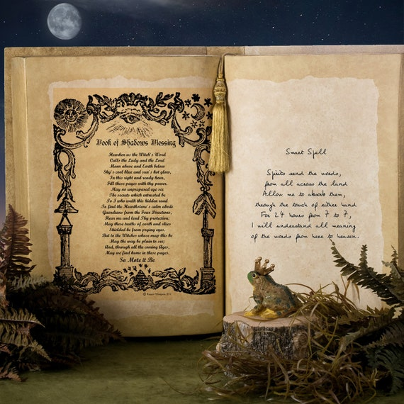 BLESS BOOK of SHADOWS - Instant Download