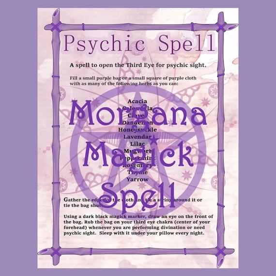 3rd Eye Psychic Spell