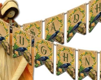 LUGHNASADH BANNER Bunting | Lughnasadh Flags Decoration | Lughnasadh  Printable | Lughnasadh DIY | Lughnasadh Altar Flags | Wicca Sabbat