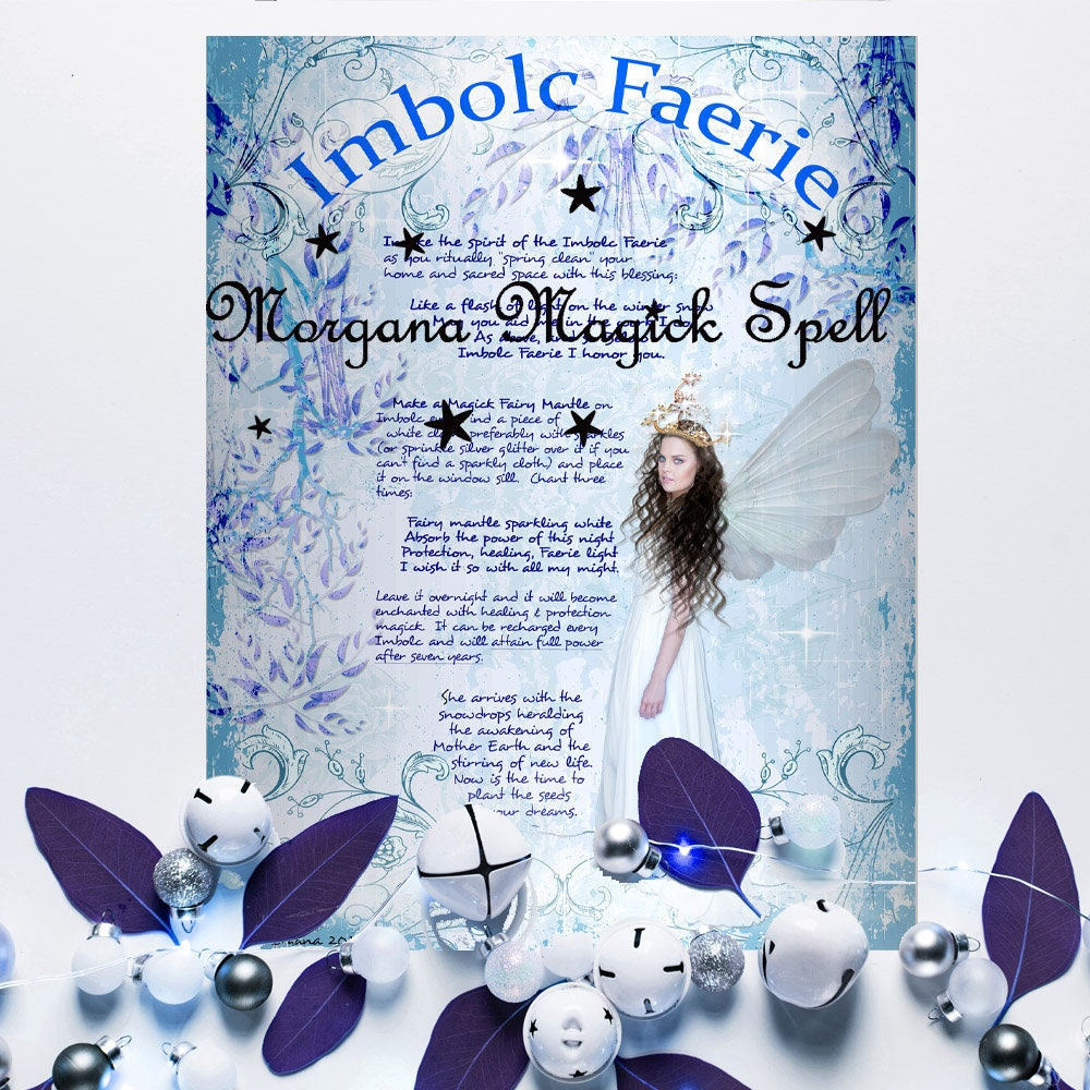 THE IMBOLC FAERIE Realm of the Fey Lore - Instant Download