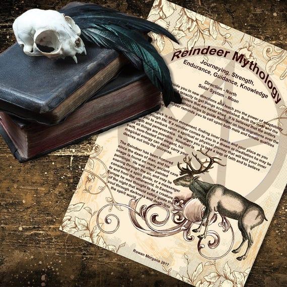 Reindeer Mythology