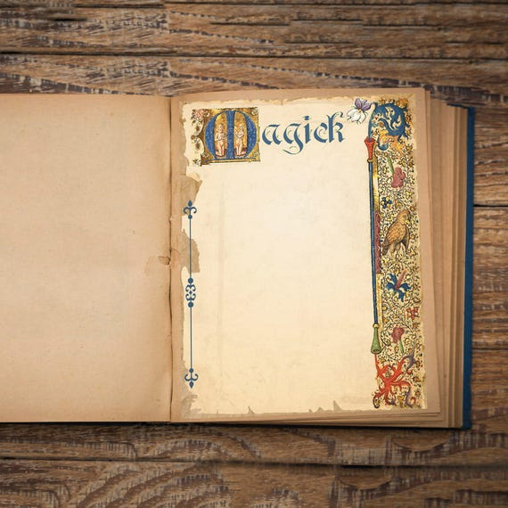 Magick Book of Shadows Page