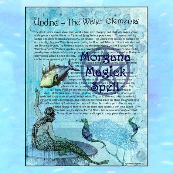Undine the Water Elemental Spirit