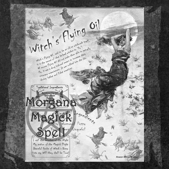 Witch's Flying Oil
