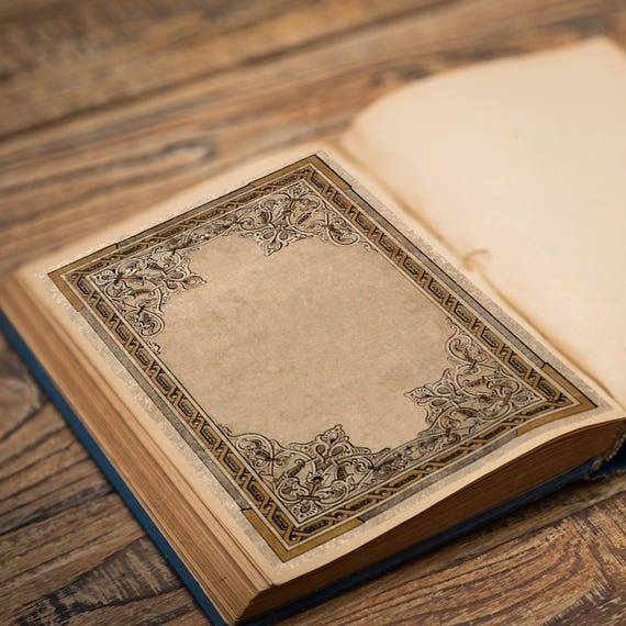 Ornate Book of Shadows Page