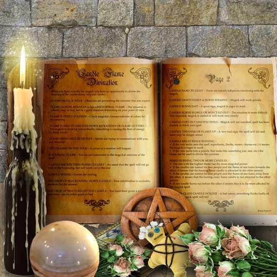 Candle Flame Divination