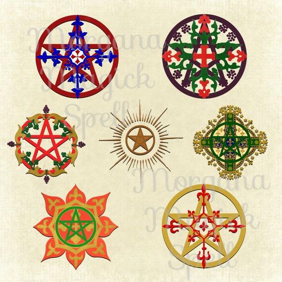 7 Medieval Pentacles