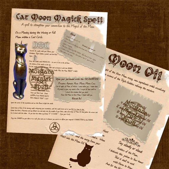 Cat Moon Magick Spell