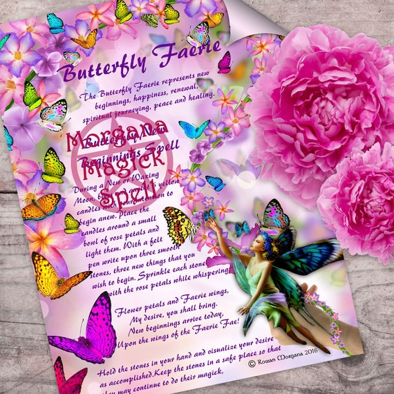 The Butterfly Faerie